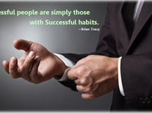 Constructive Habits Of Successful People